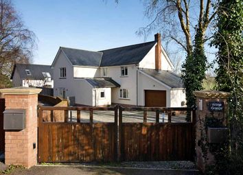 Thumbnail 4 bedroom detached house for sale in Church Lane, Cheriton Bishop, Exeter