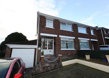 Thumbnail 3 bed semi-detached house for sale in Orangefield Road, Orangefield, Belfast