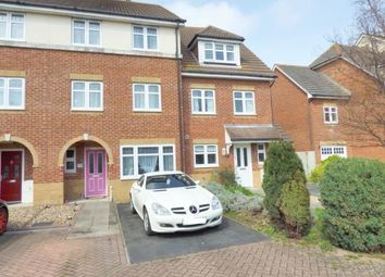 Thumbnail 4 bed terraced house for sale in Cherque Farm, Lee-On-The-Solent, Hampshire