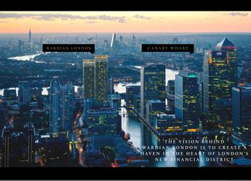 Thumbnail Studio for sale in Wardian, West Tower, Marsh Wall, London
