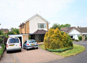 Thumbnail 3 bed detached house for sale in Whitesand Close, Glenfield, Leicester