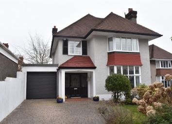 Thumbnail 4 bed detached house for sale in Parc Wern Road, Sketty, Swansea