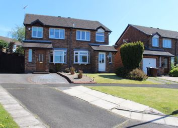Thumbnail 3 bed semi-detached house for sale in Wiltshire Drive, Shirebrook, Glossop