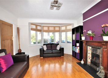 Thumbnail 3 bed detached house for sale in Meadway Close, Staines-Upon-Thames, Surrey