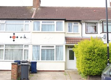 Thumbnail 4 bed terraced house to rent in Caxton Road, Southall