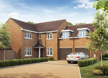 "Thumbnail 5 bed detached house for sale in ""The Oxford"" at Middlewich Road, Holmes Chapel, Crewe"