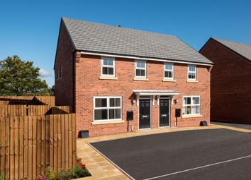 "Thumbnail 3 bed semi-detached house for sale in ""Archford"" at Tranby Park, Jenny Brough Lane, Hessle"