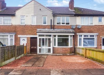 Thumbnail 3 bed terraced house for sale in Thurlestone Road, Birmingham