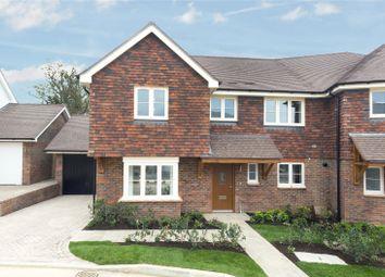 Thumbnail 3 bedroom semi-detached house for sale in Cherry Tree Lane, Cranleigh Road, Ewhurst, Surrey
