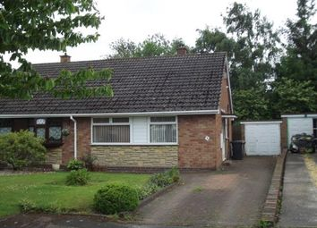 Thumbnail 2 bed bungalow for sale in Blandford Gardens, Burntwood, Staffordshire