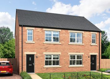 Thumbnail 3 bed semi-detached house for sale in Throckley, Newcastle Upon Tyne