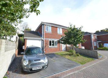 Thumbnail 3 bed semi-detached house for sale in Crossley Close, Kingsteignton, Newton Abbot, Devon