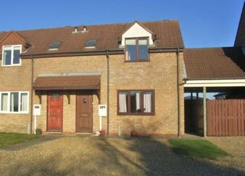 Thumbnail 1 bed terraced house to rent in Little Marsh Road, Marsh Gibbon, Bicester
