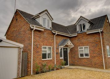 Thumbnail 3 bed detached house for sale in Council Houses, High Road, Wisbech St. Mary, Wisbech