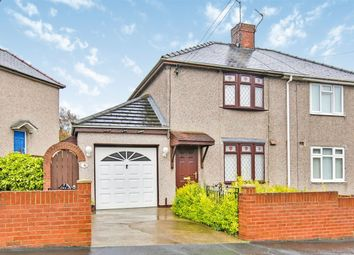 Thumbnail 2 bed semi-detached house for sale in The Grove, Coxhoe, Durham