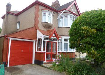 Thumbnail 3 bed end terrace house for sale in Emmott Avenue, Barkingside