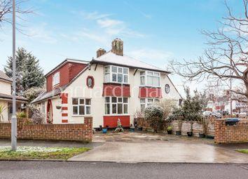Thumbnail 3 bed semi-detached house for sale in Brockenhurst Avenue, Worcester Park