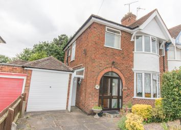 Thumbnail 3 bed semi-detached house for sale in Peters Drive, Leicester