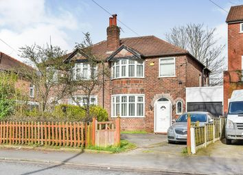 Thumbnail 3 bedroom semi-detached house for sale in Carrington Lane, Sale, Greater Manchester