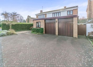 Thumbnail 4 bed detached house for sale in Radford Rise, Solihull