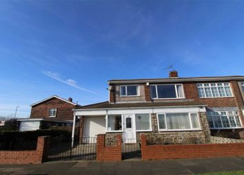Thumbnail 3 bedroom semi-detached house for sale in Park Lane, Shiremoor, Newcastle Upon Tyne