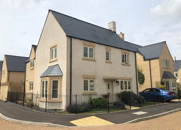 Thumbnail 4 bed detached house for sale in Old Railway Close, Lechlade