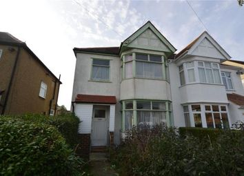Thumbnail 3 bed semi-detached house for sale in Thorpedene Gardens, Shoeburyness, Southend-On-Sea, Essex