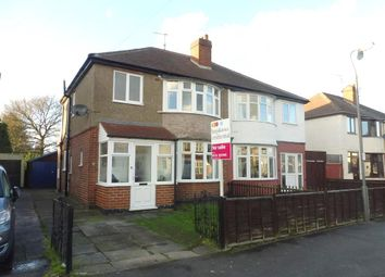 Thumbnail 3 bedroom semi-detached house for sale in Strathmore Avenue, Alvaston, Derby