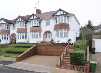 Thumbnail 4 bed semi-detached house for sale in Wood Lodge Lane, West Wickham, Kent