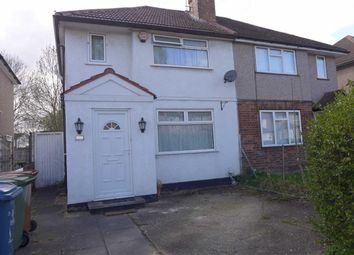Thumbnail 2 bedroom semi-detached house to rent in Hampden Road, Harrow Weald, Middlesex