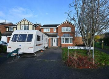 Thumbnail 4 bed detached house for sale in Charters Close, Kirkby-In-Ashfield, Nottinghamshire
