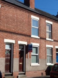 Thumbnail 3 bed terraced house to rent in Sherbrooke Road, Carrington, Nottingham