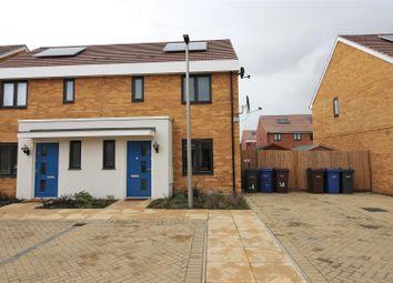 Thumbnail 3 bed semi-detached house for sale in Sanderling Close, East Tilbury, Tilbury
