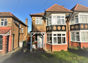 Thumbnail 3 bed semi-detached house for sale in Grasmere Avenue, Wembley