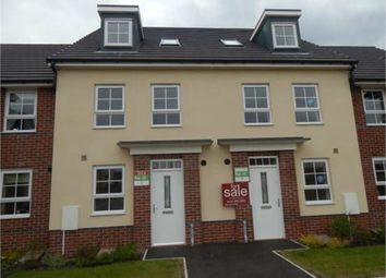 Thumbnail 4 bed town house to rent in Rose Whittle Avenue, Buckshaw Village, Chorley, Lancashire