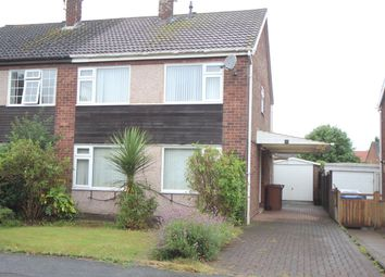 Thumbnail 3 bed semi-detached house for sale in Boyslade Road, Burbage, Hinckley