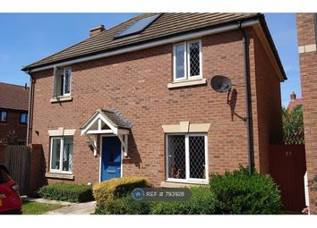 Thumbnail 3 bed detached house to rent in Fields Road, Bedford