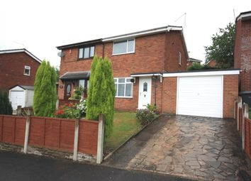 Thumbnail 2 bed semi-detached house for sale in Weir Grove, Kidsgrove, Stoke-On-Trent