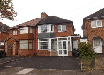 Thumbnail 3 bed property to rent in Steyning Road, Yardley, Birmingham