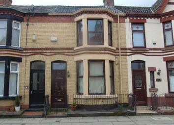 Thumbnail 2 bedroom terraced house to rent in Alverstone Road, Mossley Hill, Liverpool