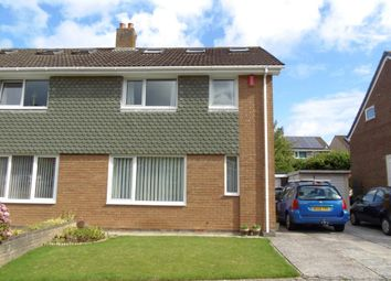 Thumbnail 4 bed semi-detached house for sale in Cherry Park, Plympton, Plymouth, Devon