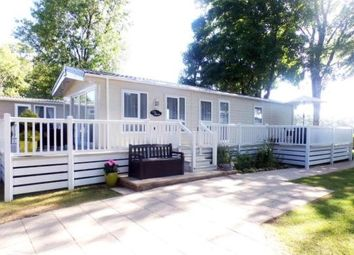 Thumbnail 3 bed mobile/park home for sale in Woodlands Hall, Ruthin