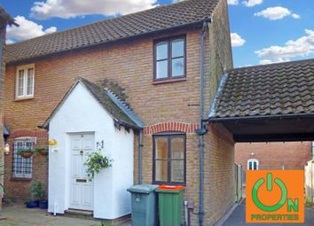 Thumbnail 1 bed semi-detached house for sale in Alestan Beck Road, Beckton, London