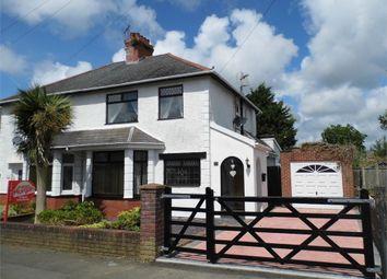 Thumbnail 3 bed semi-detached house for sale in Brynteg Avenue, Bridgend, Bridgend, Mid Glamorgan