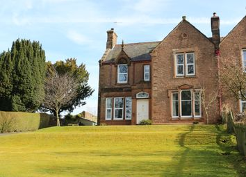 Thumbnail 4 bed semi-detached house for sale in St Bryde's Terrace, Lockerbie