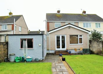 Thumbnail 3 bed semi-detached house for sale in Four Acre, Llantwit Major