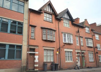Thumbnail 4 bed terraced house for sale in Regent Road, Leicester