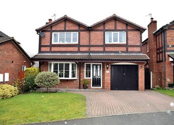 Thumbnail 4 bed detached house for sale in Harpur Crescent, Alsager, Stoke On Trent