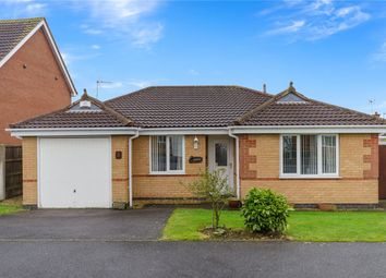 Thumbnail 2 bed detached bungalow for sale in Aidan Road, Quarrington, Sleaford, Lincolnshire