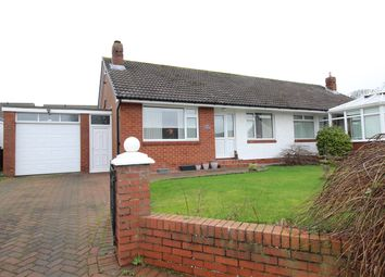 Thumbnail 2 bed semi-detached bungalow for sale in Cross Lane, Wigton